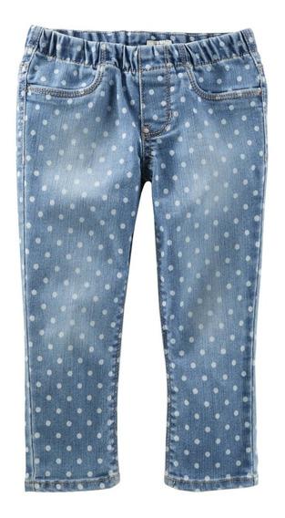 Pantalon Para Bebe Niña Marca Oshkosh Talla De 6 A 9 Meses