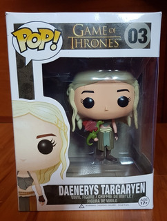 Figura Funko Pop Game Of Thrones - Daenerys Con Dragon 03