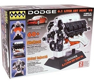 Hawk Kit De Motor Fundido A Troquel Dodge Srt-8 A Escala 1/6