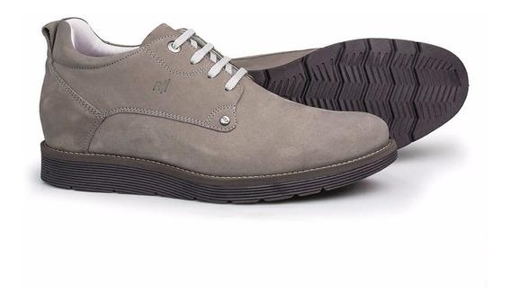 Sapato Masculino Rafarillo Hoover Alth Cinza 5905-01