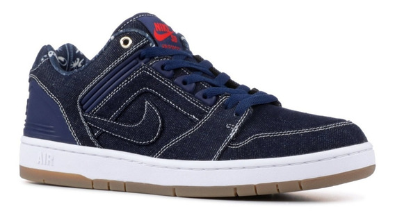 Zapatillas Nike Skateboarding Air Force 2 Azul Original