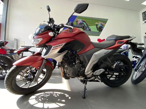 Yamaha Fz25 Fazer 2019 Vermelha
