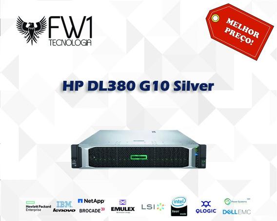 Servidor Hp Dl380 G10 Silver 4114 10c 32gb Ram P408i-a