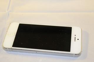 iPhone 5 Blanco 16 Gb Usado Funcionando Con Detalle