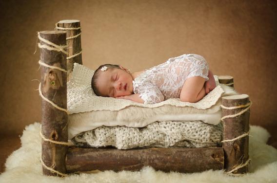 Kit 3 Peças Acessorios Newborn