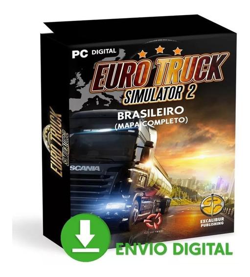 Euro Truck 2 Pc Brasileiro Simulador Caminhão Mídia Digital