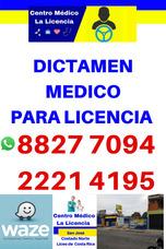 Dictamen Medico Para Licencia - Dictamen Medico Digital