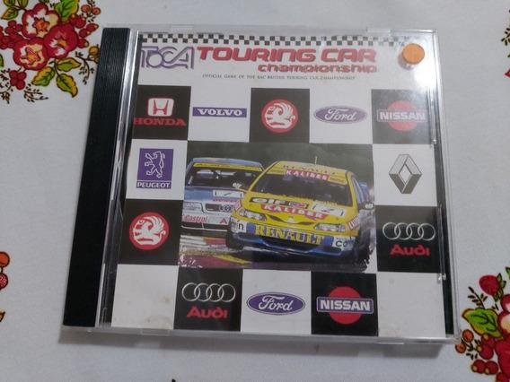 Toca Touring Car Championship Ps1 Patch Prensado Prateado D2