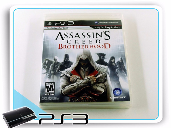 Ps3 Assassins Creed Brotherhood Original Playstation 3