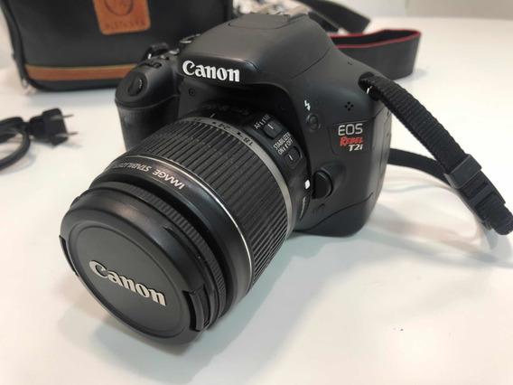 Câmera Canon T2i Rebel