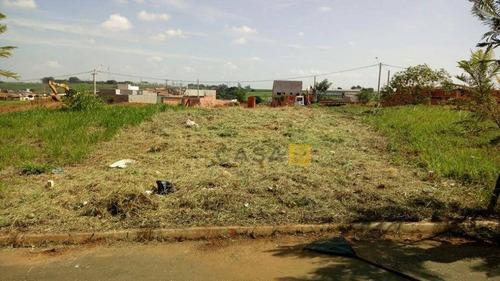 Terreno Residencial À Venda, Terra Azul, Santa Bárbara D'oeste. - Te0117