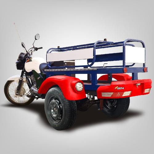 Triciclo De Carga Fusco Gás6 - Faz 30km/l - Transporta 300kg