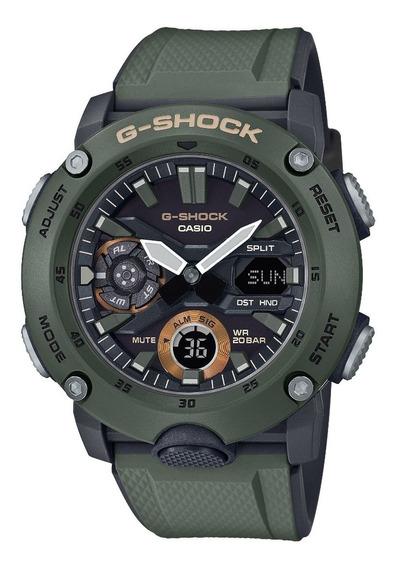 Relogio Casio G-shock Ga-2000-3adr Carbon Core Guard + Nfe