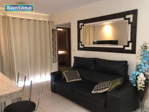 Apartamento Com 2 Dormitórios À Venda, 67 M² Por R$ 270.000,00 - J Jeriquara - Caldas Novas/go - Ap0548