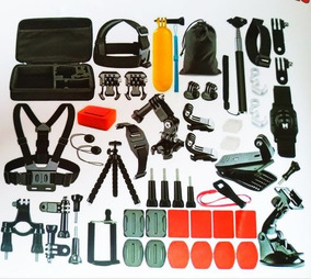 Kit Acessórios Câmera Action Gopro Hero 54em1 Tomate Mt-1101