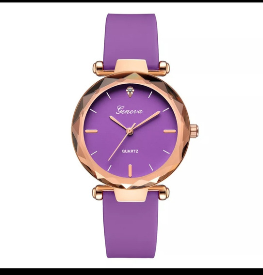 Promoção Lindo Relógio Feminino Geneva + Brinde
