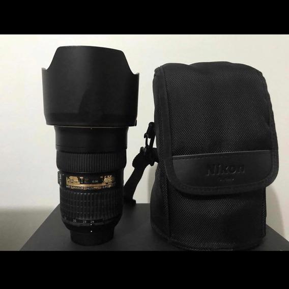 Vendo Lente 24-70 2.8 Nikon