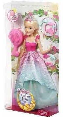 Barbie Reino Dos Penteados Mágicos 45 Cm De Altura. Refdrj32