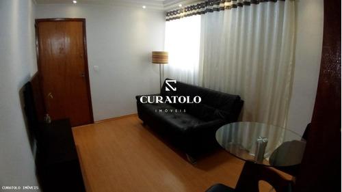 Apartamento Para Venda Em São Bernardo Do Campo, Jardim Nazareth, 2 Dormitórios, 1 Banheiro, 1 Vaga - Barcetito_1-1889035