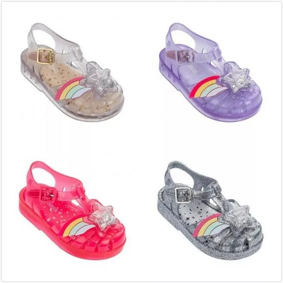 Zapato Sandalia Niña Mini Melissa 2019 Estrella 14-18 Cm