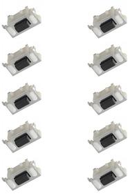 Botão Power Volume Tablet/ Gps/ Mp3/ Mp4: 6mm - 50 Peças