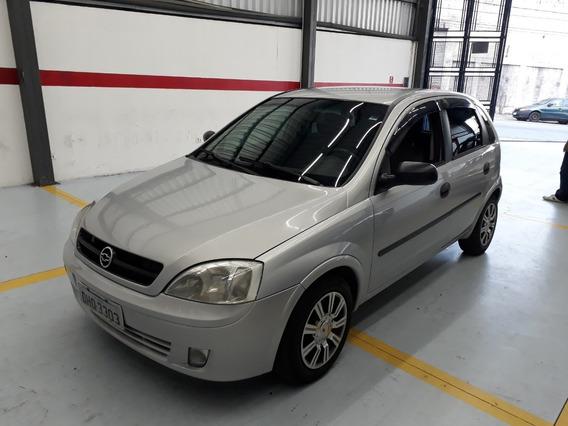 Corsa Hatch 1.0 Gas,ano 2003,prata,rodas,pneus Ok,doc Ok,