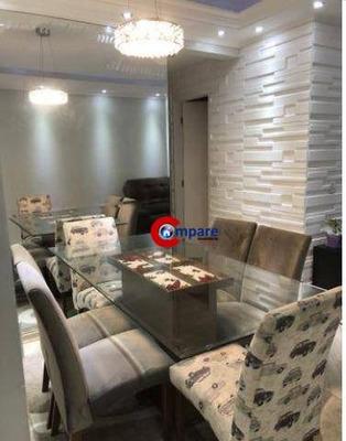 Apartamento Com 3 Dormitórios À Venda, 68 M² Por R$ 375.000 - Portal Dos Gramados - Guarulhos/sp - Ap7379