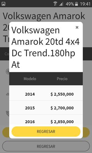 Amarok Trendline 4x4 Automati Motion Permutaria Hilux Ranger