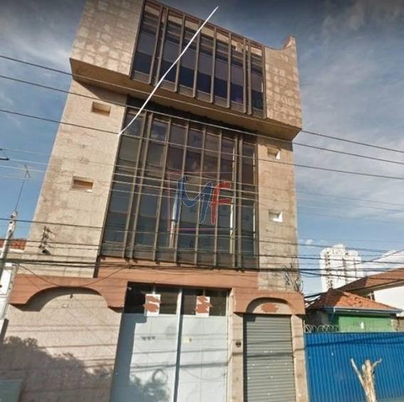Ref 10.695 Prédio Comercial Com 5 Pavimentos No Bairro Tatuapé, 2000 M² A.c. , 550 M² Terreno, Zoneamento Zeis-5. - 10695
