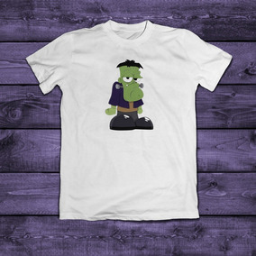 Playera Frankenstein 2 Halloween Para Niños Sublimada