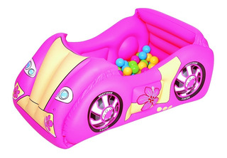 Auto Inflable Pelotero C/ 50 Pelotas Bestway 52159 Babymovil