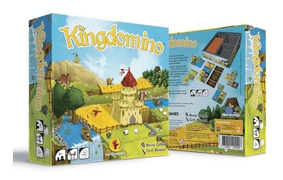 Kingdomino Jogo De Tabuleiro Papergames J006