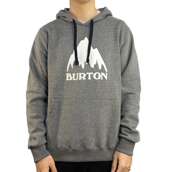 Buzo Canguro Burton Logo Mtn Basic Pullover