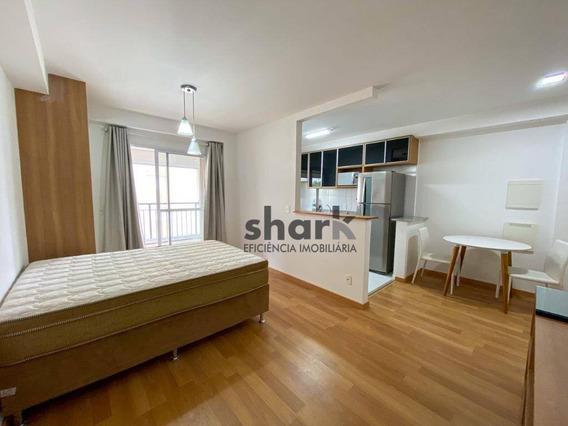 Studio Com 1 Dormitório Para Alugar, 42 M² Por R$ 2.000/mês - Edifício Splendya 2 - Barueri/sp - St0009