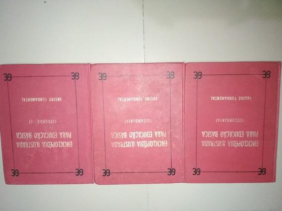 Livro - Lote 3 Livros Enciclopedia Britanica 1994