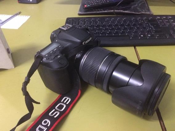 Camera Canon Eos 70d - Com Lente Canon 18/200 Mm