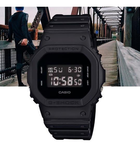 Relógio Casio G-shock Padrão Digital Dw-5600bb-1dr Preto
