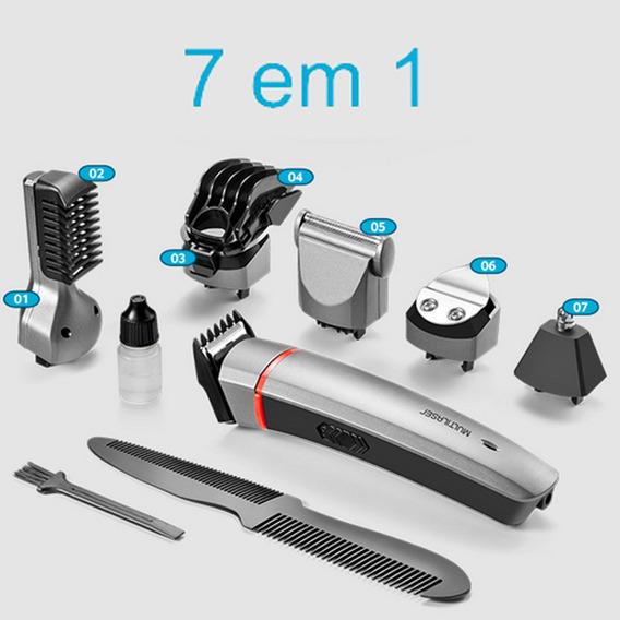 Maquina De Barbear Maquina De Fazer Barba 7 Em1 Frete Grátis