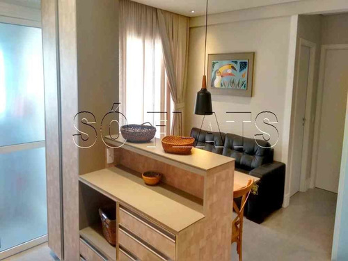 Apartamento Alto Padrão A Venda No Brooklin, Lindamente Decorado, Prox A Av. Chucri Zaidan - Sf28904