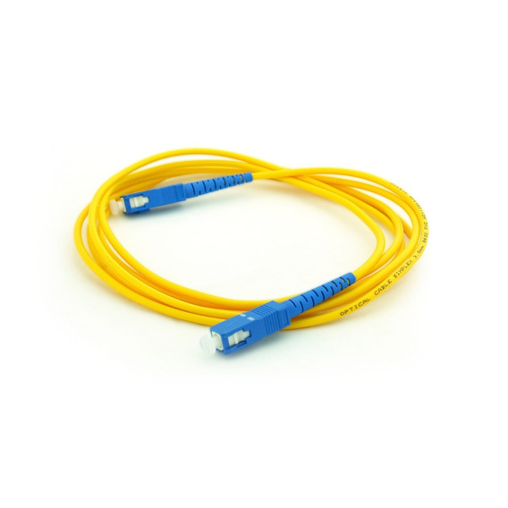 Patchcord Fibra Optica Glc Sc/pc - Sc/pc Sm 1 Mts Simplex