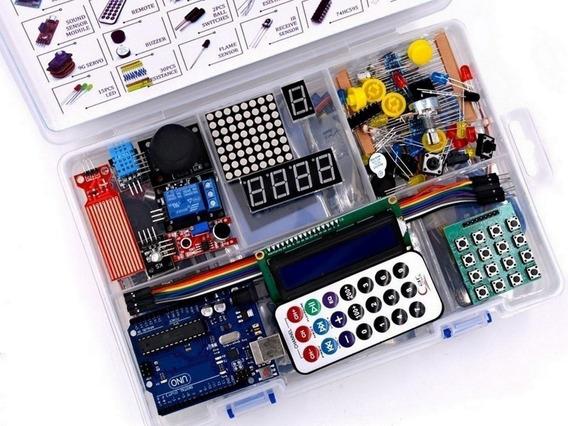 Starter Kit Arduino Uno Muy Completo Para Principiantes Mona