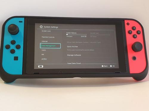 Consola Nintendo Switch Neon 32gb Como Nueva Con Caja