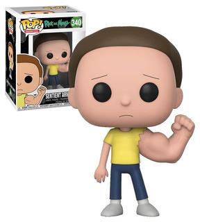 Funko Pop Rick And Morty - Morty #340 Original   En Stock!