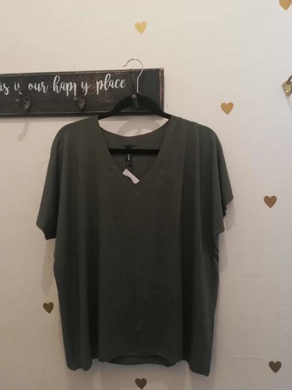 Blusa Verde Básica