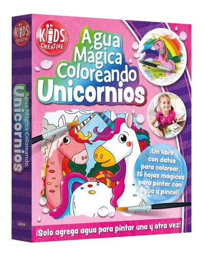 Agua Mágica Coloreando Unicornios
