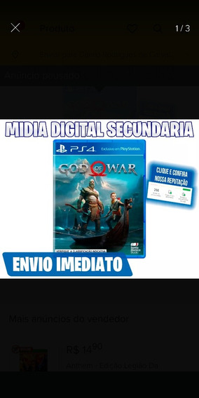 God Of War Dublado Ps4
