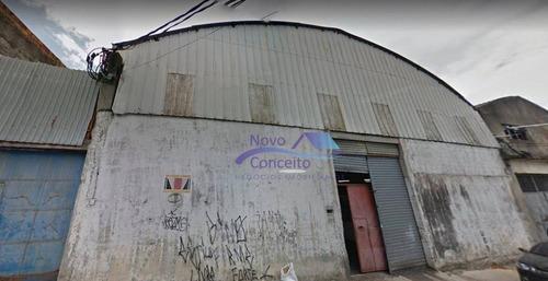 Galpão Para Alugar, 1000 M² Por R$ 9.000,00/mês - Vila Bancária - São Paulo/sp - Ga0190