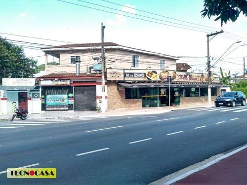 Excelente Loja Para Venda Com 386 M² No Bairro  Boqueirão Em  Praia Grande/sp. - Lo0085
