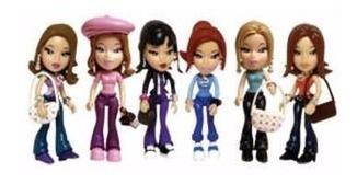 Coleção 6 Miniaturas - Bonecas Drama Queens Maisto - 8 Cm
