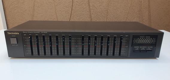 Equalizador Technics Sh-8028 Usado Funcionando 100%